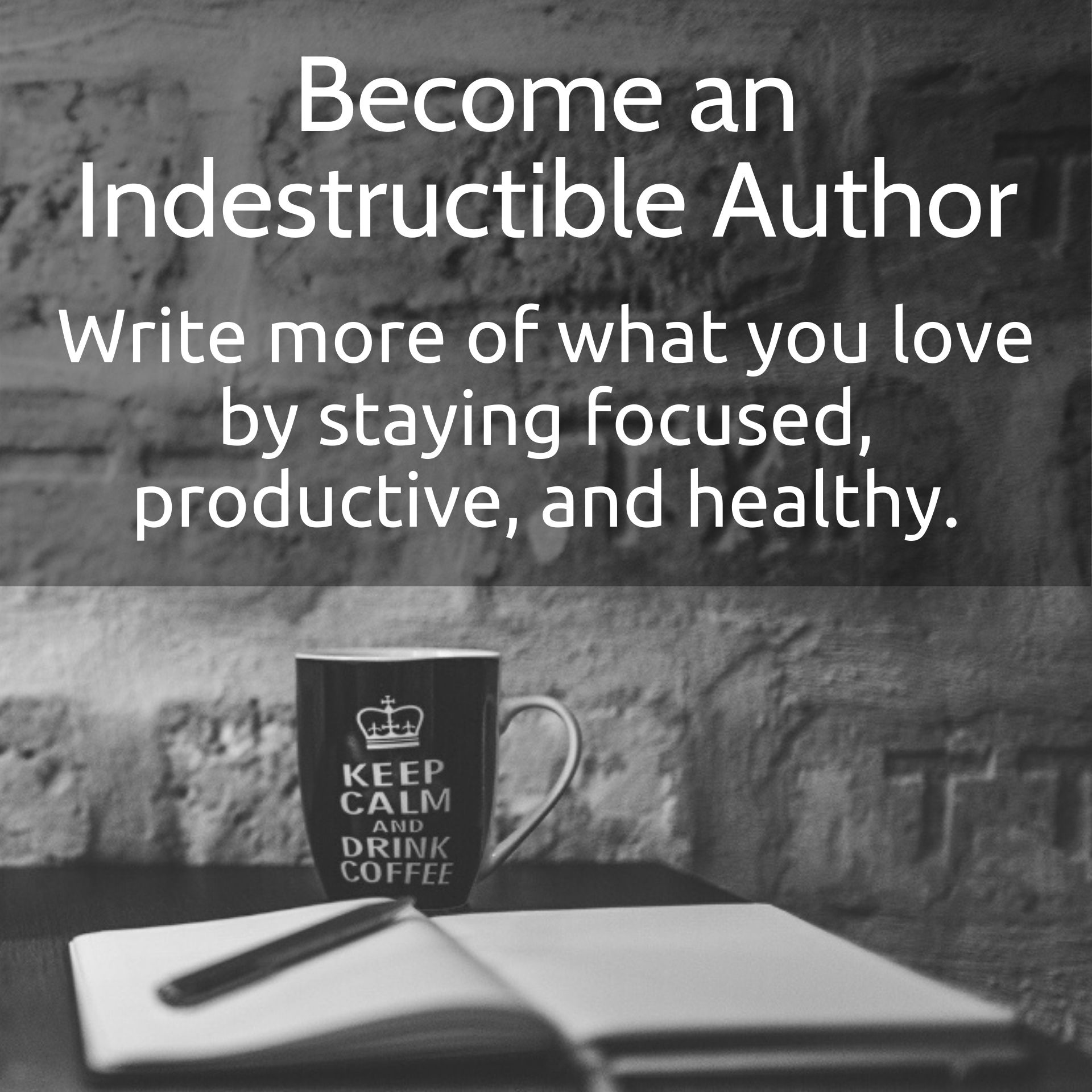Become an Indestructible Author mobile banner 1920x1920